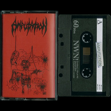 AMPUTATION - SLAUGHTERED IN THE ARMS OF GOD (CASSETTE)