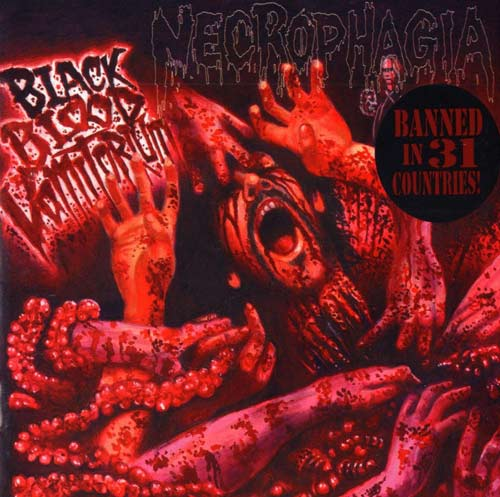 NECROPHAGIA - BLACK BLOOD VOMITORIUM (CD)