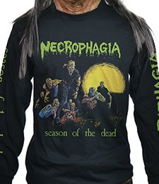 NECROPHAGIA - SEASON OF THE DEAD (LONG SLEEVE LARGE)