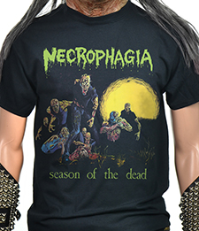 NECROPHAGIA - SEASON OF THE DEAD (T-SHIRT XXL)
