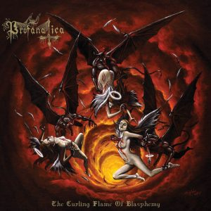 PROFANATICA - THE CURLING FLAME OF BLASPHEMY (CD)