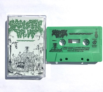 SADISTIC DRIVE - ANTHROPOPHAGY (CASSETTE)